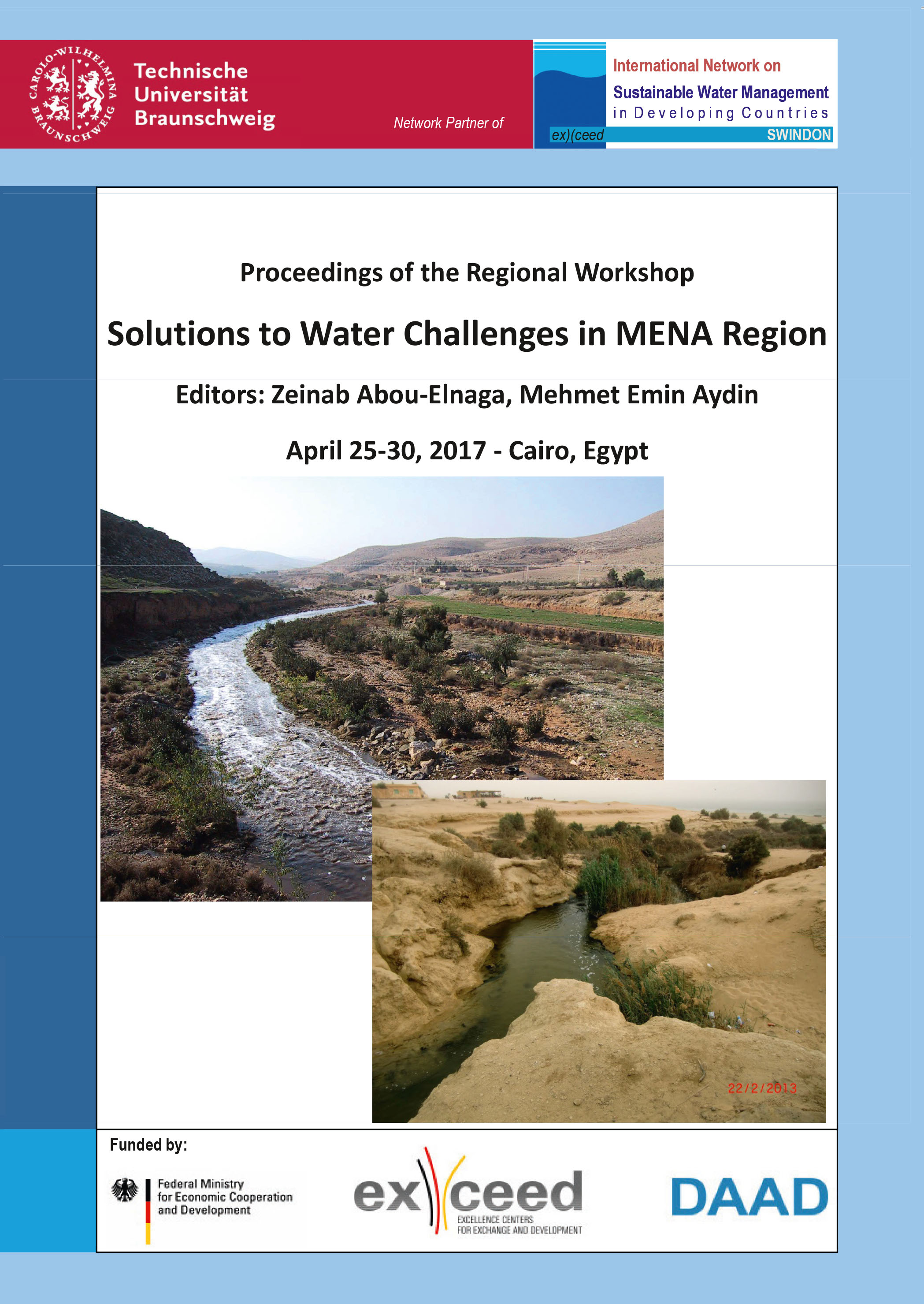 Solutions to Water Challenges in MENA Region