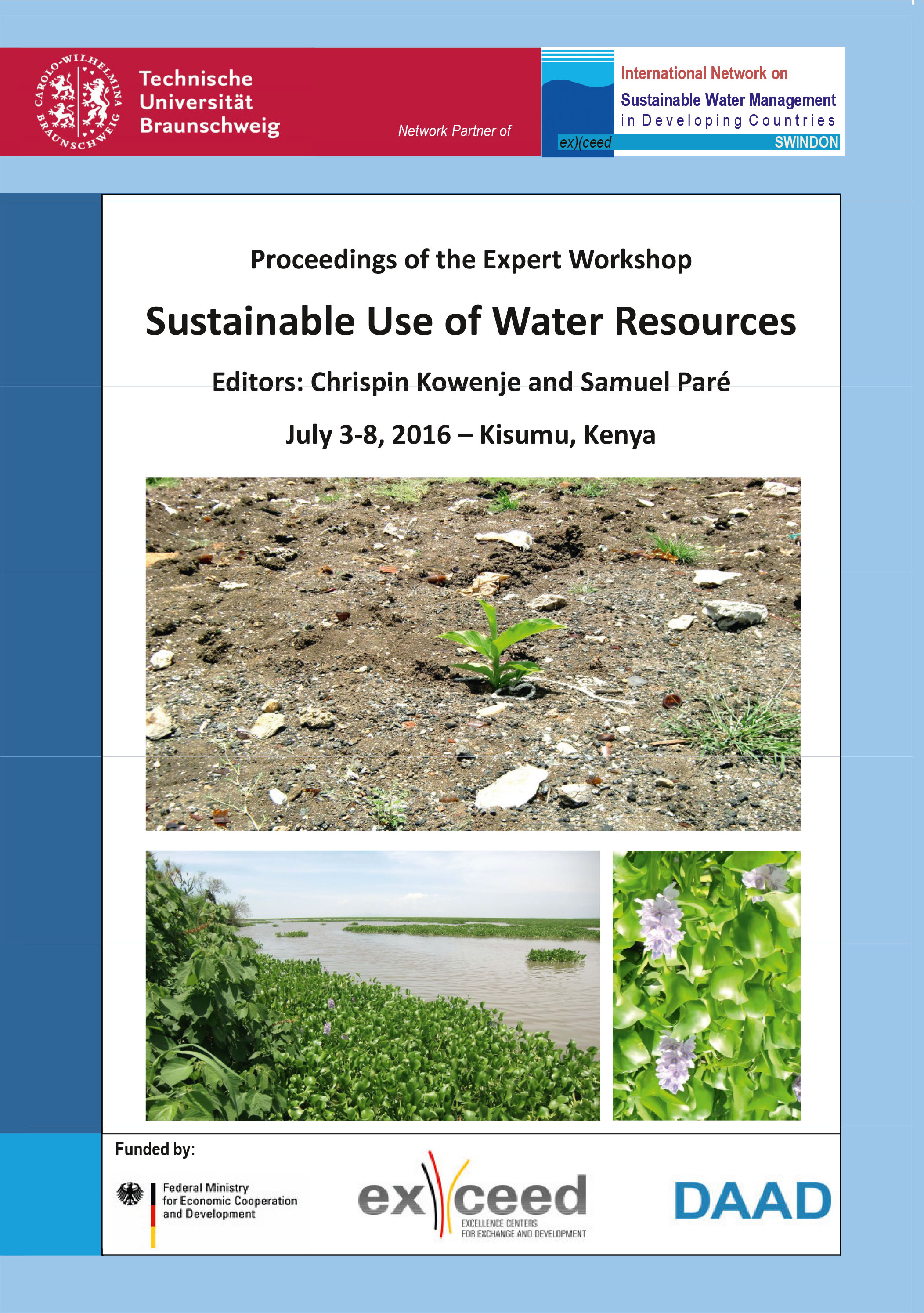 Sustainable Use of Water Resources